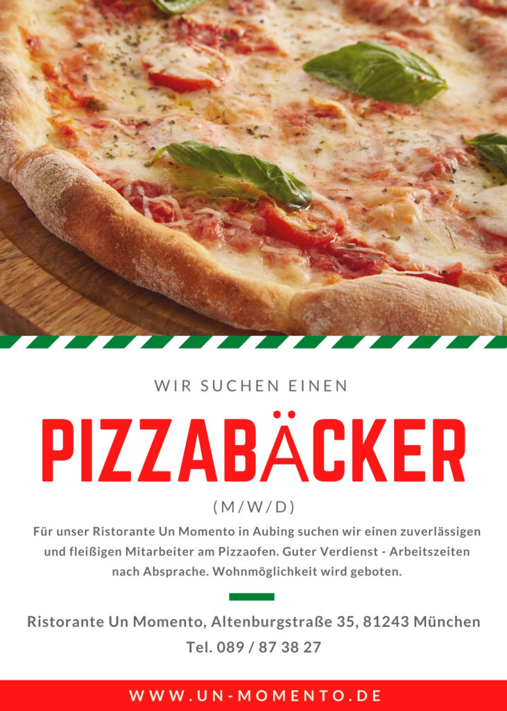 Pizzabäcker gesucht